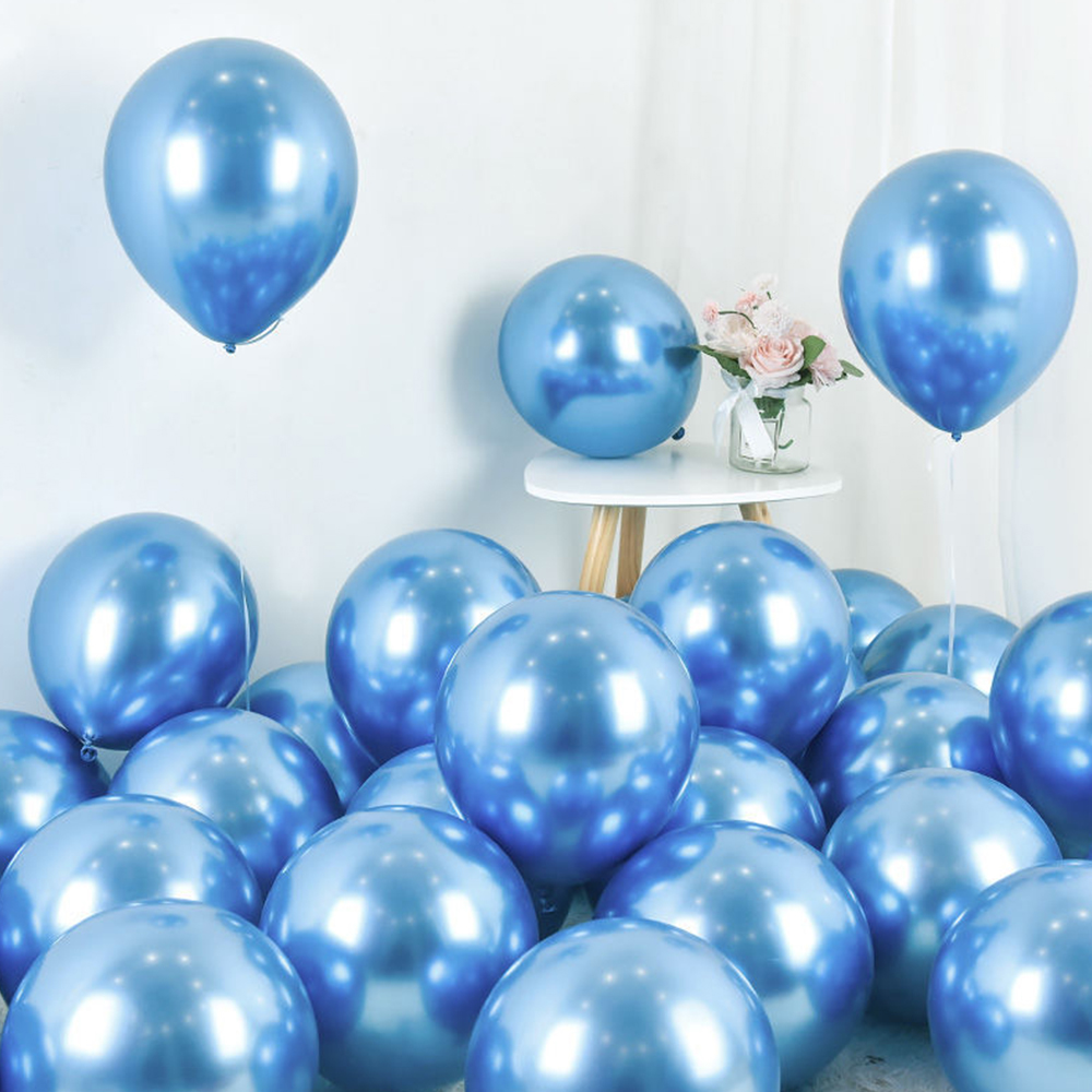 10pcs 10inch New Glossy Metal Pearl Latex Balloons Thick Metallic Colors Inflatable Air Balls Globos Birthday Party Decor Hot Deal B2d65 Cicig