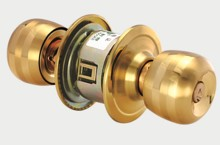 цена на Home round ball door locks bedroom knob set lock with key bathroom doors Hardware lock Supplies