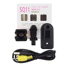 SQ11 Mini Kamera 1080P Sport DV Mini Infrarot Nachtsicht Monitor Verdeckt SQ11 Kleine Kameras DV Video Recorder Cam(China)