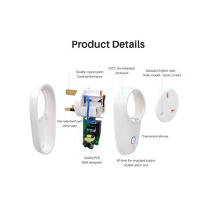 "Image 5 - Itead Sonoff S26 חכם WiFi שקע CN AU בריטניה ארה""ב האיחוד האירופי BR זה אלחוטי שלט רחוק מתג באמצעות eWeLink עובד עם Alexa Google בית"