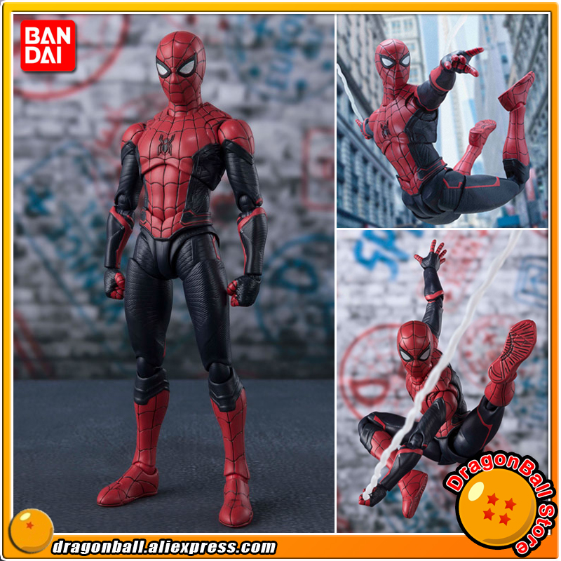 100% Original BANDAI SPIRITS Tamashii Nations S.H. Figuarts / SHF Action Figure - Spider-Man Upgrade Suit