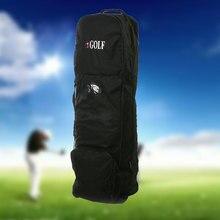 Полёт путешествия спорт гольф мешок защитный комбинезон чехол Перевозчик с колесами