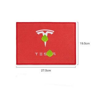 Image 5 - Asciugamano per pulizia Auto addensato in pile corallo Premium cura in microfibra asciugamani per acqua forte per Tesla modello 3 X S accessori Auto