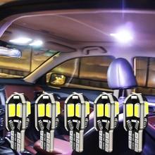 Bombilla Interior para coche libre de Error T10 w5w 5730 8SMD luz LED para Mercedes Benz A B C E GLA La CIA GLK GL ML GLE clase BMW X1 X3 X4 X5