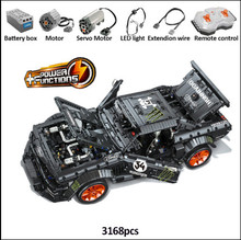 3168PCS Building Blocks Bricks with LED Light Toy RC Ford Mustang Hoonicorn RTR V2 Technic Super Racing Car With Motor Kid's