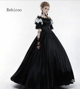 Век герцогиня Ретро Средневековый Ренессанс, реконструкция театра, Национальная война Викторианский платье