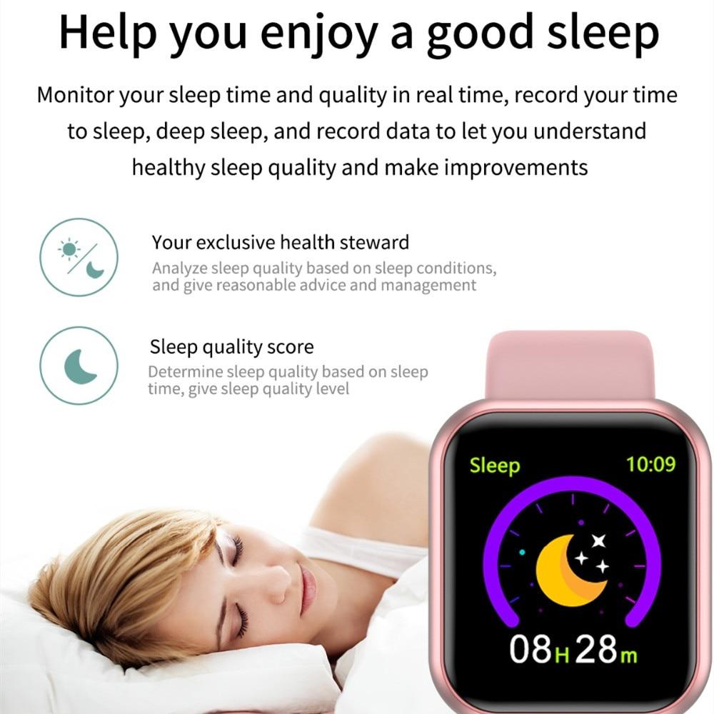 Arvin Smart Watch 2020 Heart Rate Fitness tracker Sport Smartwatch Men Women 4