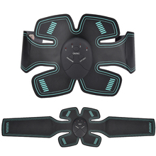 EMS Muscle Stimulator Wireless Smart Abdominal Trainer Electric Weight Loss Stickers ABS Fitness Body Shape Slimming Belt Unisex ems wireless muscle stimulator smart fitness abdominal training electric weight loss stickers body slimming belt unisex