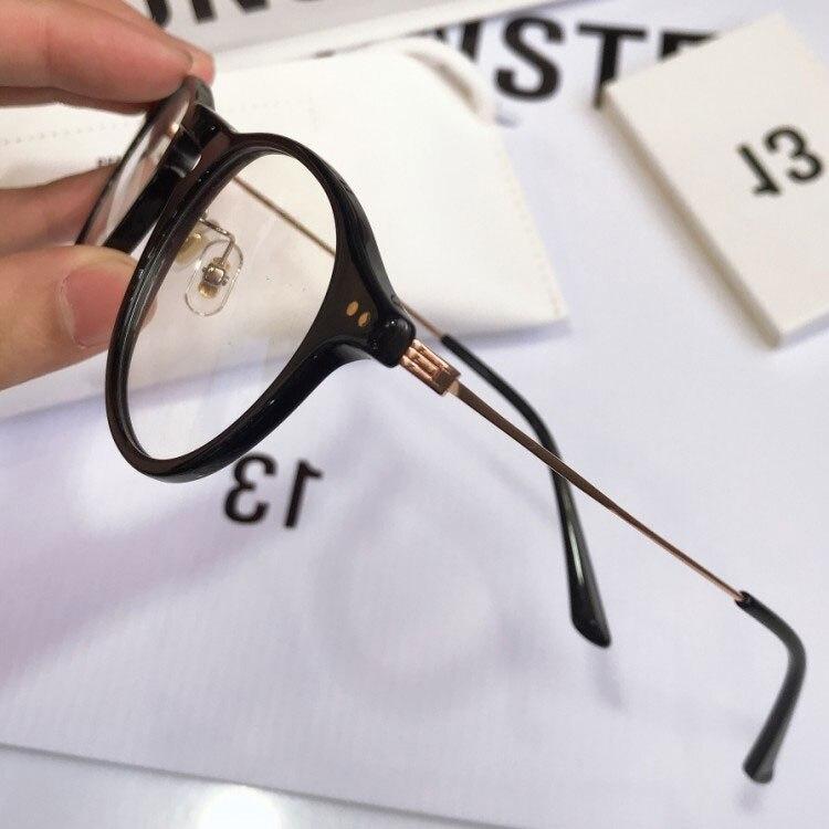 Корейский фирменный дизайн, нежные оправы для очков Cozmo, женские и мужские круглые прозрачные очки для чтения, линзы для близорукости по рец...