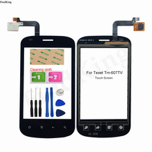 Mobile Touch Screen For Texet TM-607TV Touch Screen Front Glass Digitizer Panel TouchScreen Sensor Tools Adheisve