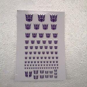 Image 5 - ملصقات Autobots G1 ملصقات 90 + رمز ملصق مائي مخصص لتقوم بها بنفسك المشهد اكسسوارات 0.6*0.6 1.5*1.5 سنتيمتر الديكور