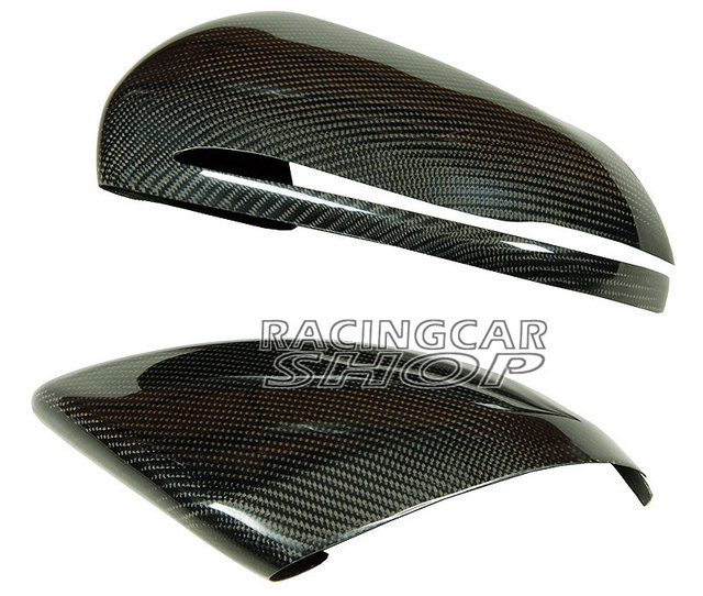 Real Carbon Fiber Mirror Covers 1pair For Mercedes-Benz W205 C-Class 2014UP  M104M 4