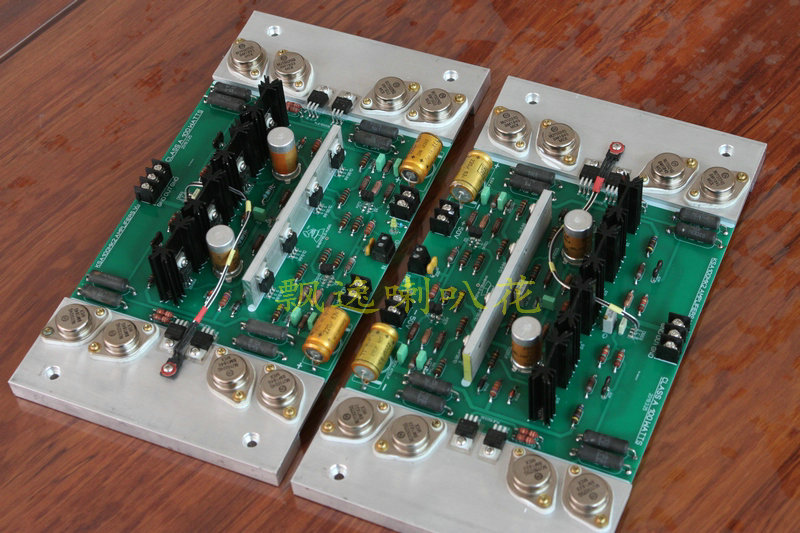 KRELL KSA100MK2 8 pcs gold seal audio tube parallel output class A amplifier finished board with heatsink image
