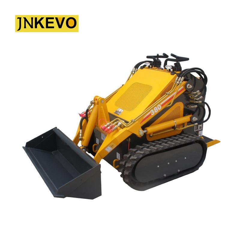 Efficient Manufacturer Construction Wheel Machine 21hp Mini Compact Wheeled Skid Steer Loader Strengthening Waist And Sinews