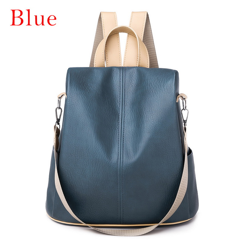 Hb1b0067069b94488add8d34f4720d2f9K - Fashion Women Waterproof Travel Backpack Anti-theft Oxford Backpack Female School Bags Bagpack For Girls Shoulder Bag