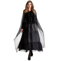 Witch Cos Dress Long Dress Ghost Bride Dress Vampire COS Witch Costume New