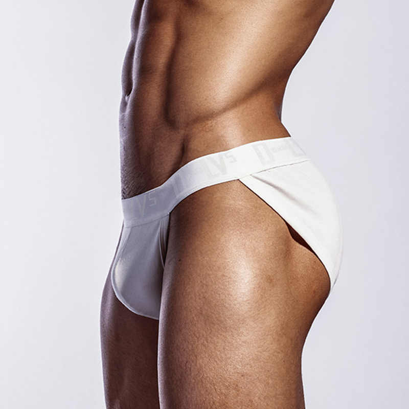 New Arrival bawełna Sexy Gay bielizna męska Bikini męskie majtki list oddychające męskie majtki bielizna spodenki męskie majtki OR214