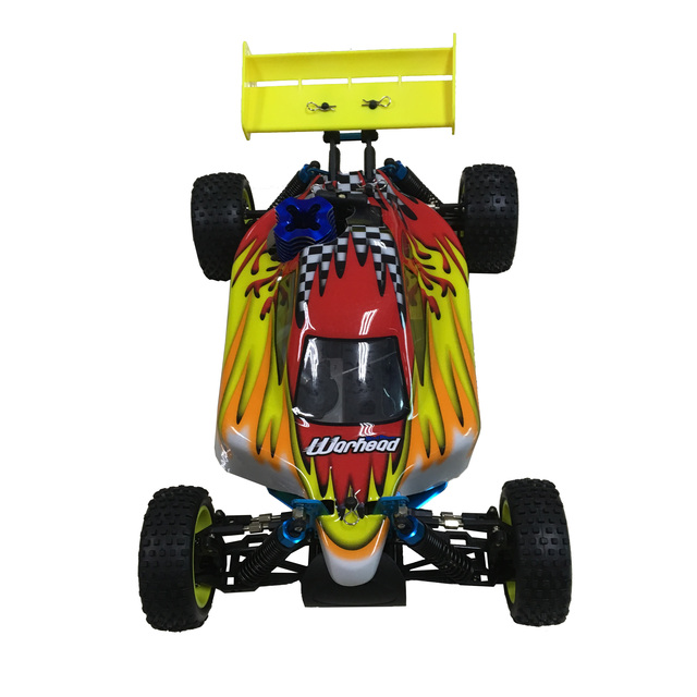 Free shipping HSP Baja 1/10 ratio nitro power off-road vehicle 4WD RC car 94166 and 18cxp engine speed 60-80KM/H 3