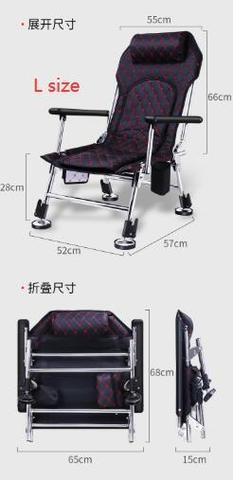 de levantamento cadeira pesca reclinavel
