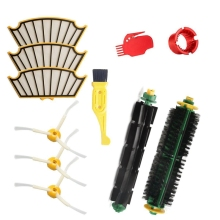 Filter Brush Accessories Kit for Irobot Roomba 500 Series Roomba 510 530 532 535 540 555 560 570 580 590 Vacuum Cleaner Filter new 6 armed lateral brush for irobot roomba 500 600 700 series 510 530 532 550 560 620 625 760 770 780 vacuum cleaner part
