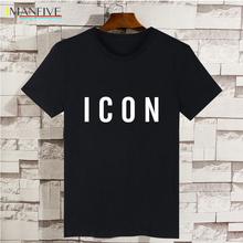 Funny t shirt Hot Sale Fashion Brand Icon T shirt Men Casual Tshirt Print With Icon Hip Hop cotton Short Sleeve Tee shirt 3xl floral skull women t shirt s 3xl newstreetwear funny print clothing hip tope mans t shirt tops tees hot sale men t shirt fashion