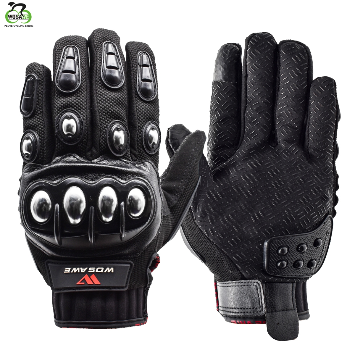 Gloves Cycling Full Finger Winter  Thermal Gel Padded Windproof Bicycle Gloves