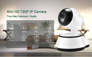 Image 2 - BESDER sécurité à domicile caméra IP sans fil intelligent WiFi caméra WI FI enregistrement Audio Surveillance bébé moniteur HD Mini caméra de vidéosurveillance iCSee