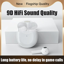 Tws fones de ouvido bluetooth com microfones sem fio com cancelamento ruído alta fidelidade graves estéreo esportes à prova dwaterproof água