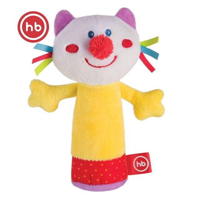 Игрушка с пищалкой Кот Happy Baby