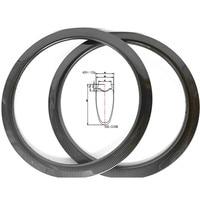 700c disk road wheel carbone rim 460g road disc rims 55x28mm clincher tubeless tape rim wheel tape tubeless road bike rims