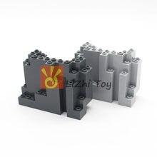 Кубики MOC 6082 Rock панель 4X10X6 прямоугольные DIY образовательные строительные блоки Развивающие игрушки для детей, совместимые со всеми брендами