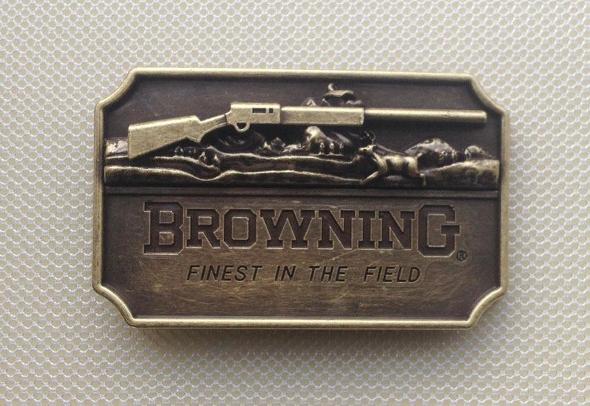 Gun Belt Buckles Metal For Man Women Browning West Buckles Metal Cowboy Belt Buckle