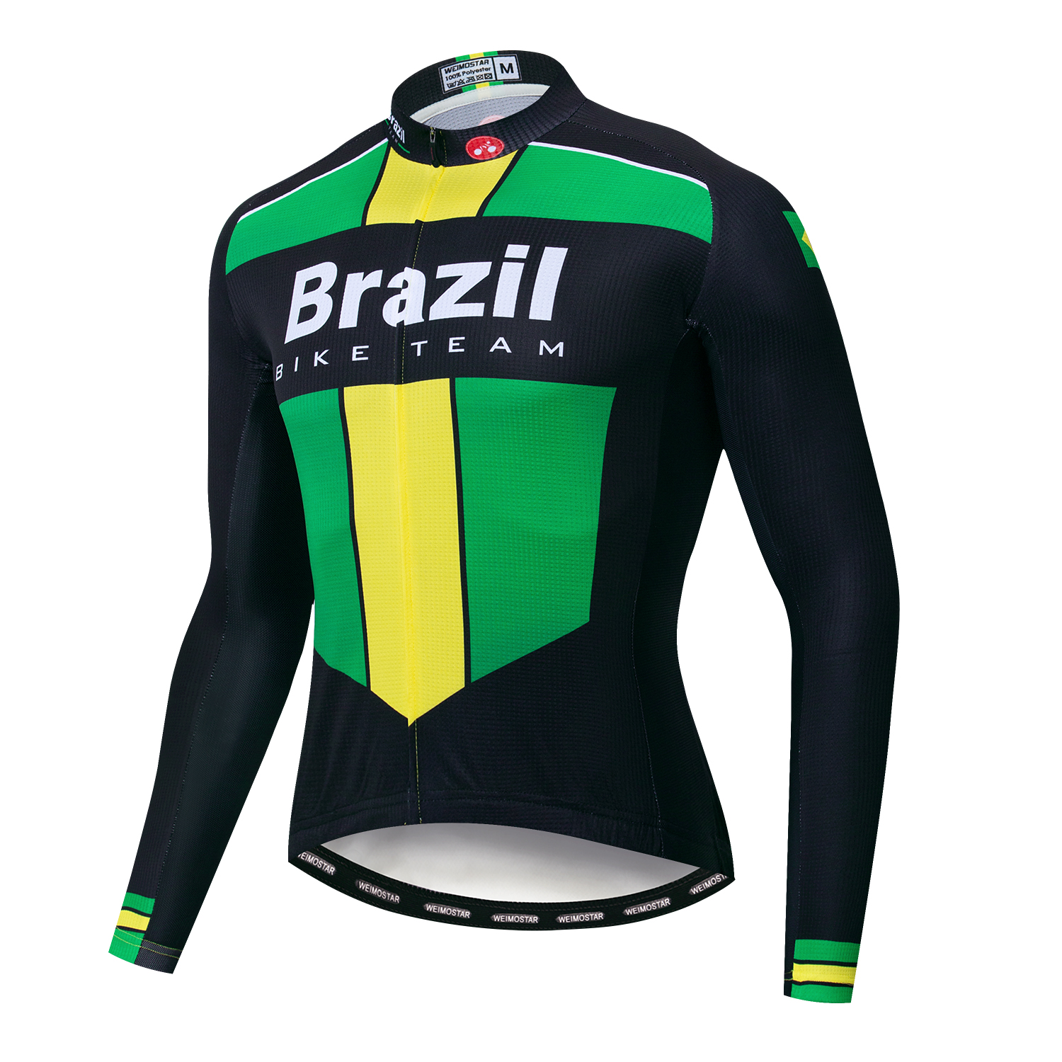Cycling Jersey Men Long Sleeve 2020 Bike Jersey Shirt Brazil Israel Colombia Russia Germany Poland MTB Bicycle Maillot Ciclismo