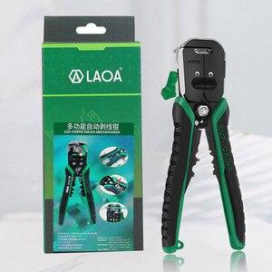 Image 5 - LAOA Автоматический зачистки проводов многофункциональные профессиональные электрические провода зачистки кабеля инструменты