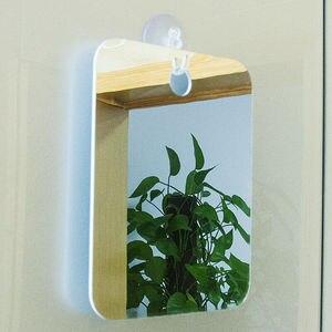 Deluxe inquebrável anti-nevoeiro espelho de barbear parede pendurado à prova de nevoeiro banheiro chuveiro espelho banheiro banho decoração espelhos
