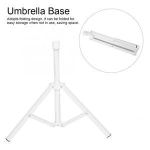 Image 4 - Courtyard Sun Umbrella Stand Beach Umbrella Holder Foldable Garden Parasol Base