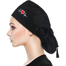 Шапка унисекс для медсестры модная шапка из хлопка с принтом