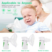 цена на Mini Portable Nebulizer Ultrasonic Inhaler Nebulizer Kit Household Health Care products for adults and children