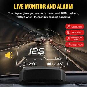 Image 4 - AUTOOL X500 OBD2 Car HUD Digital Speedometer Automobile Head Up Display Frontal Projector OBD Gauge On board Computer