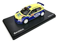 Modèle de voiture de rallye Fabia R5 en alliage 1:43, jouet de course à haute simulation, jouet éducatif pour enfants, livraison gratuite