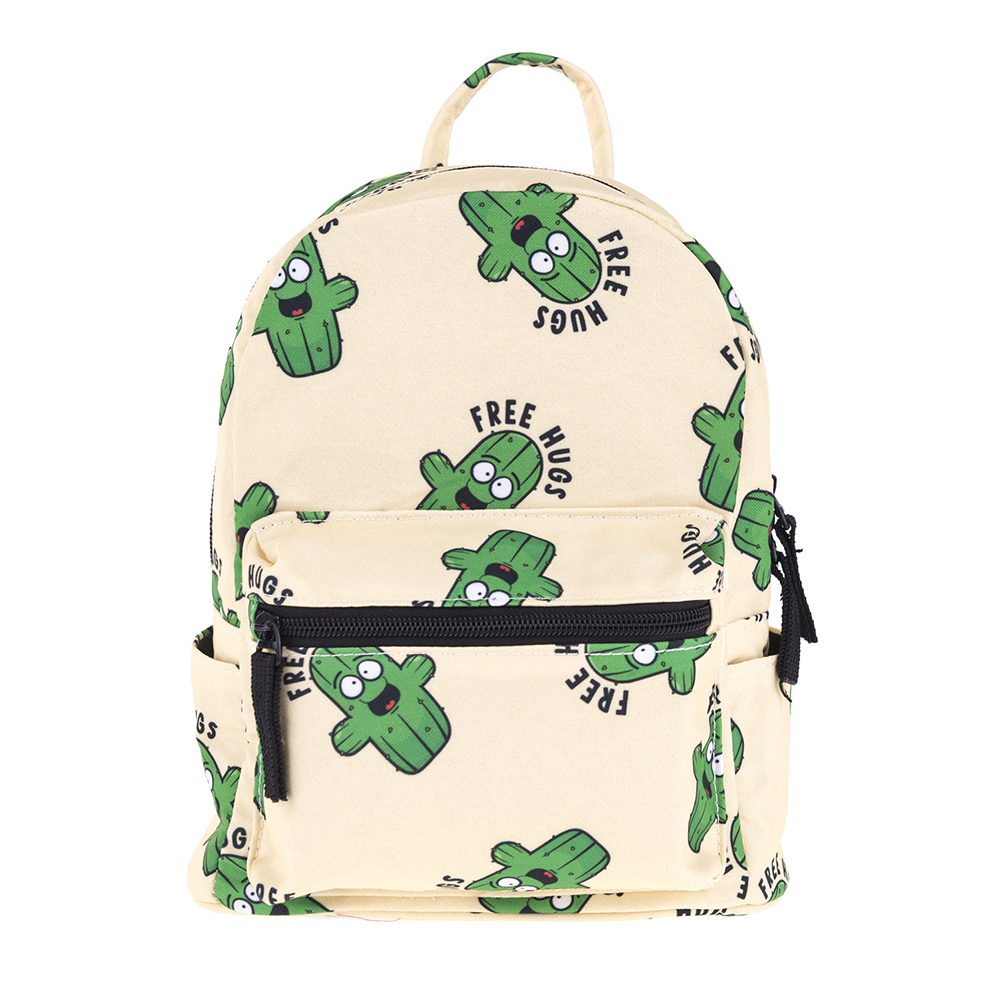 1pcs Backpack Oxford Fabric Storage Printing Cactus Backpack Beautiful Backpack For Child Kid Girl