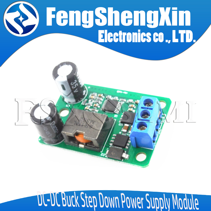 24V/<font><b>12V</b></font> To 5V/5A 25W DC-DC Buck Step Down Power Supply Module Synchronous Rectification Power Converter Replace 055L <font><b>LM2596</b></font> image