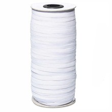 150 Yards M Diy Gevlochten Elastische Band Koord Knit Band Hoge Stretch Elasticiteit Knit Diy Masker Sprei Manchet 2Pcs(China)