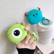 Case for AirPods Cartoon Earphone Case for Apple Airpods 2 Cute Accessories Protect Cover with Finger Ring Strap 3D Mike Sully биде laguraty 2159c blue