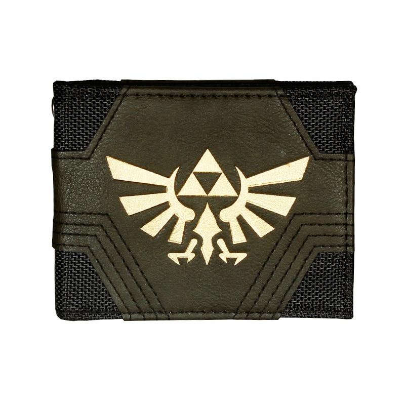 The Legend Of Zelda Men's High Quality Wallets Ladies Fashion Purse Women Designer Wallet DFT1562