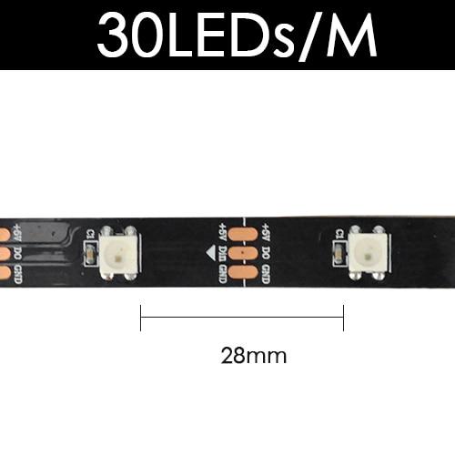 Black 30 LED