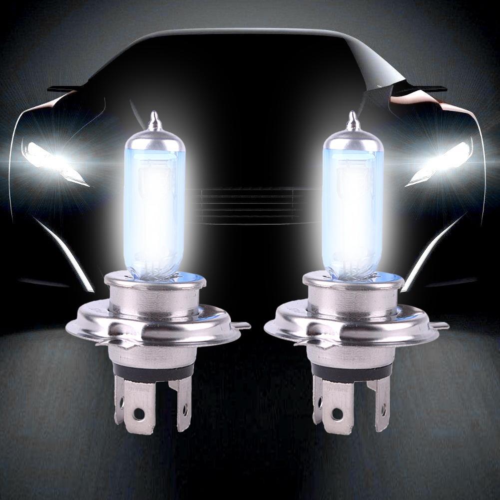 2 шт./лот 12 В 100 Вт LED H4 6000K газ супер яркий белый автомобиль фары светодиодные лампы противотуманные лампы автомобиль Стайлинг Продвижение Новый|Передние LED-фары для авто|   | АлиЭкспресс