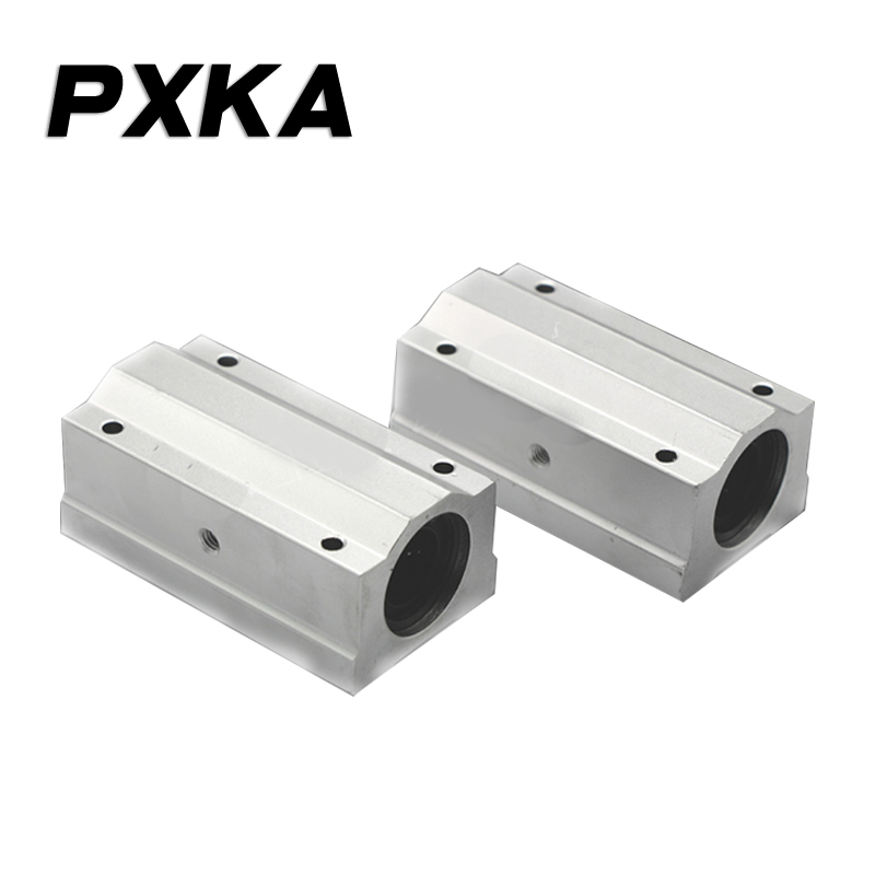 Free shipping high quality long box linear optical axis slider SCS8 10 12 13 16 20 25 30 35 40 50 60 LUU image