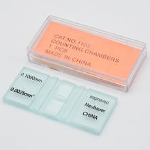 Blood Counting Chamber Hemocytometer Blood Cell Counter Blood Counting Slides Bio-experimental Equipment Teaching Instruments counting