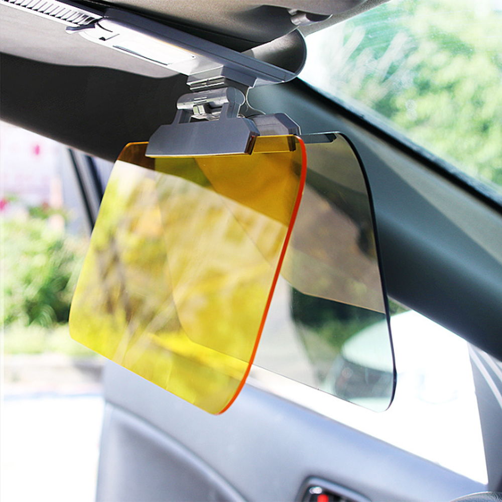 Driver Goggles Sun Visor Shade Eye Protection Anti-Glare Mirror Day And Night Dual-Purpose Auto Accessories Car Driving Glasses